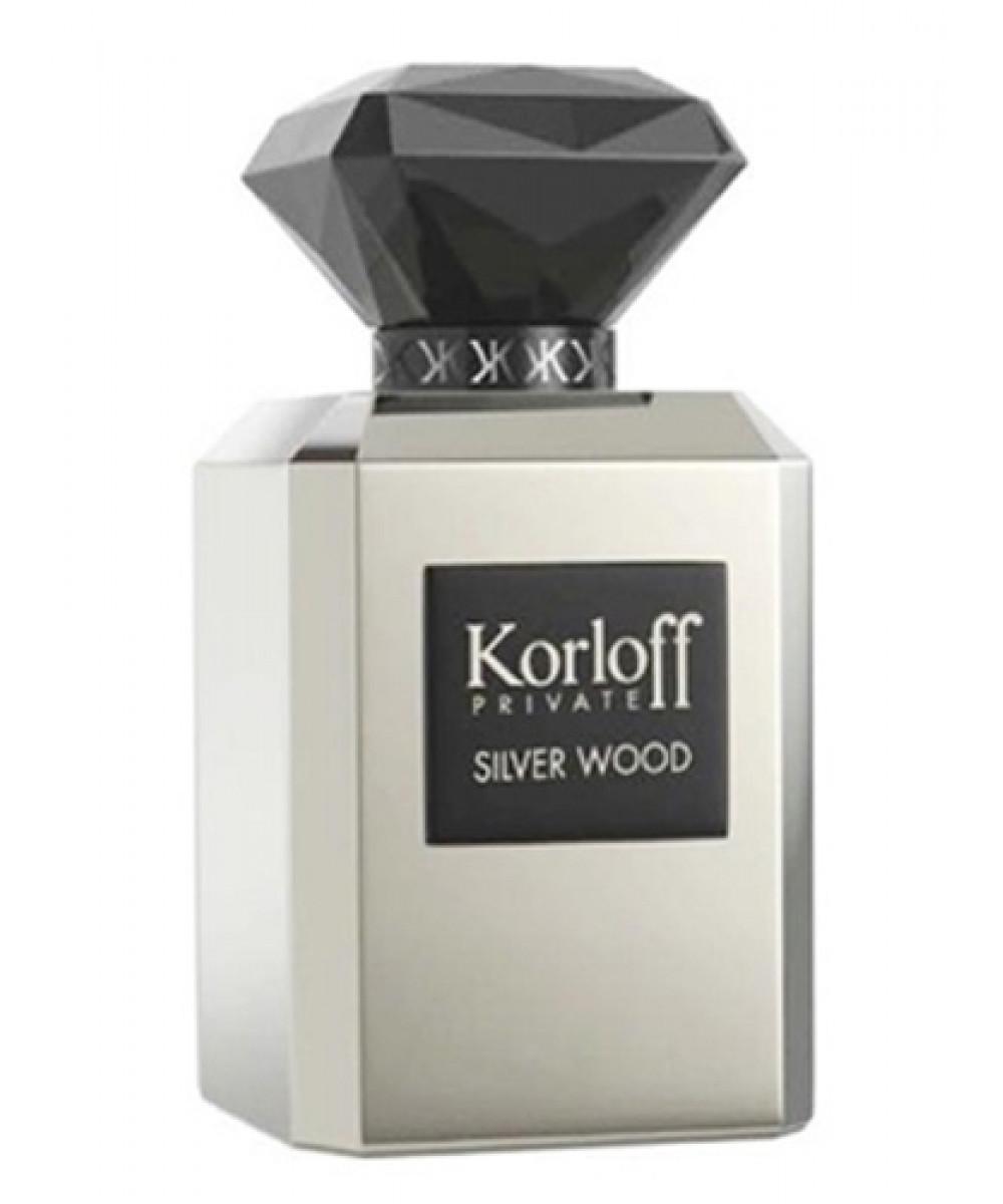 Korloff Paris Silver Wood