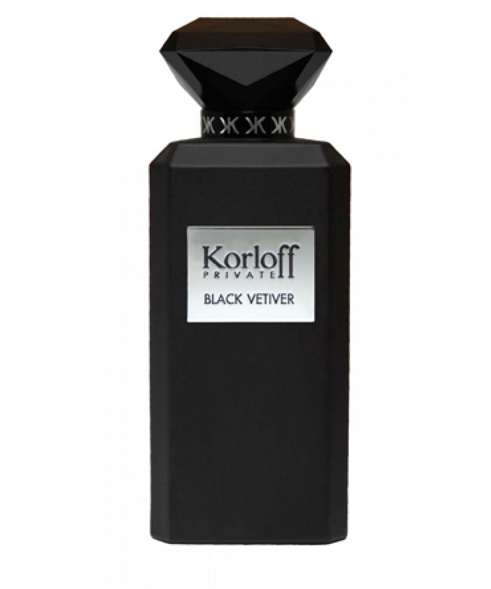 Korloff Paris Private Black Vetiver